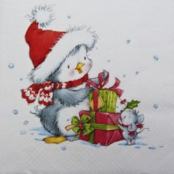 Vánoční přátelé 33x33