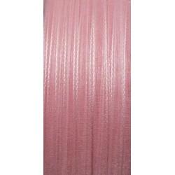 Stužka šifónová 3mm světlá růžová