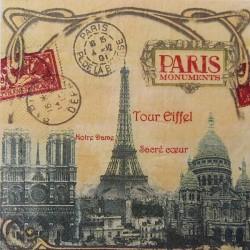 Paříž památky 33x33
