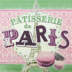 Pattisserie de Paris 33x33
