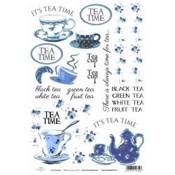 Papír rýžový A4 Čas pro čaj