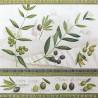 Olivové větvičky s bordurou 33x33