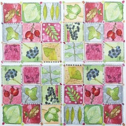Podzimní vzory 25x25