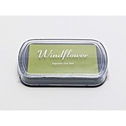 Windflower polštářek - žlutozelený