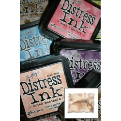 Distress Ink polštářek - tea dye