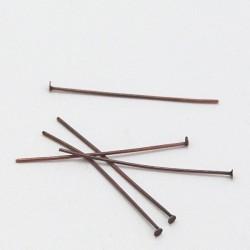 Ketlovací nýt - 4cm, 5ks - staroměď
