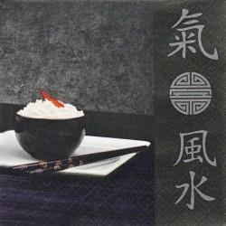 Orient, černý 33x33