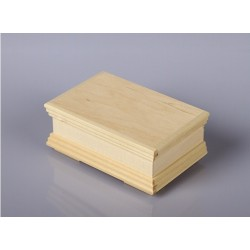 Krabička s frézovanými okraji - malá