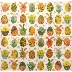 Velikonoční vejce se vzory 33x33