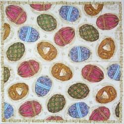 Fabergého vejce na ploše 33x33