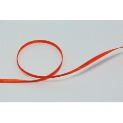 Stužka saténová š.3mm - oranžová