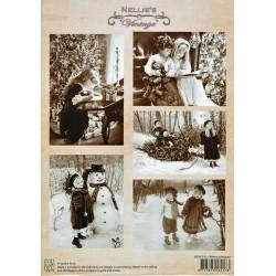 Nellie Vintage A4 - zimní radosti