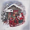 Papíry rýžové zimní, vánoční