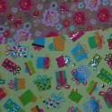 Barevné a vzorované papíry - sady