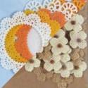 Textilní dekorace, peříčka