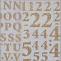 Číslice, písmena