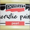 Perleťové a metalické barvy Pentart