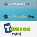 Press Boss, Tauros, příslušenství a kapsy A4