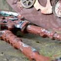 Rusty - imitace rzi