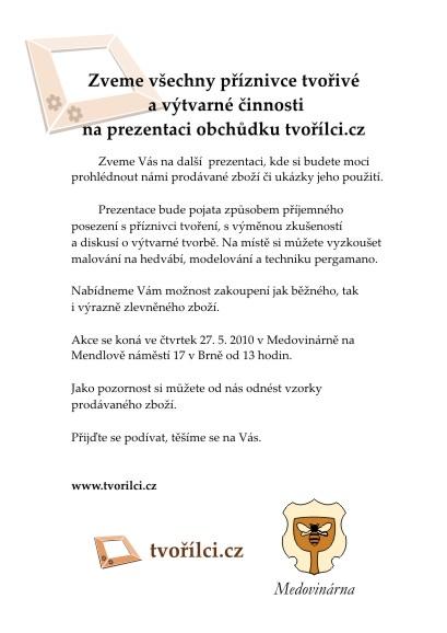 Prezentace - Tvořílci.cz