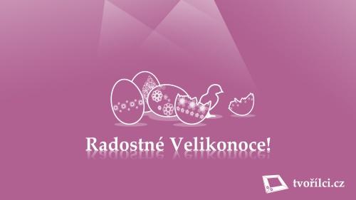 Tvořílci.cz přejí všem svým zákazníkům Veselé Velikonoce