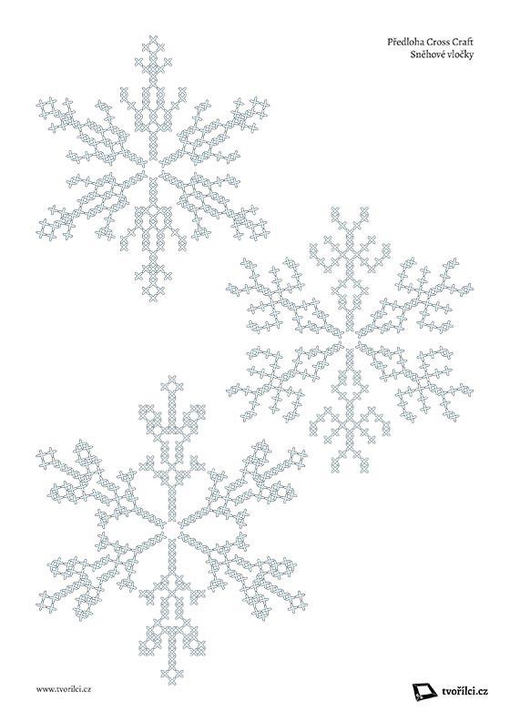 TV02 - Sněhové vločky