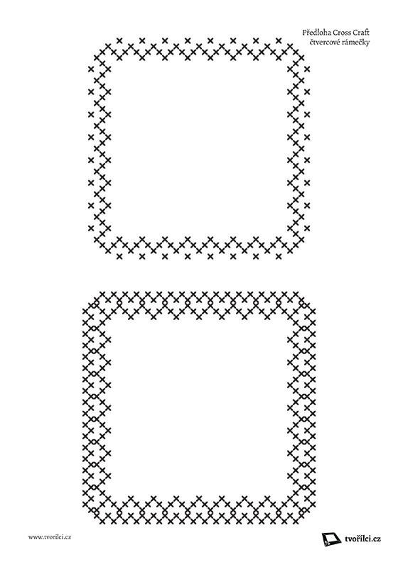 TV04 - Čtvercové rámečky