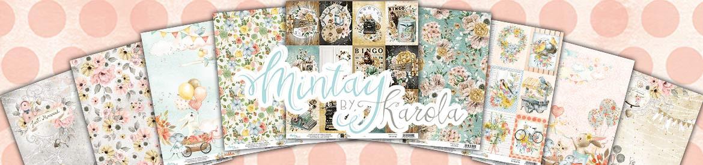 Nové papíry značky Mintay by Karola